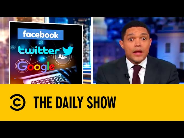 Trevor Talks Technology Take Over | The Daily Show with Trevor Noah