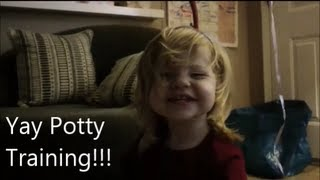 Daily Vlog - 1st Pee Pee (Potty Training)