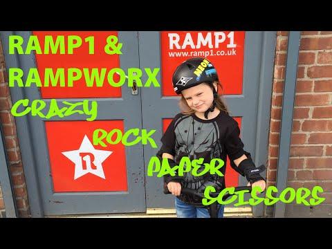 Girl Scooter Rider Olivia Martin @ Ramp1 & Rampworx Crazy Rock Paper Scissors
