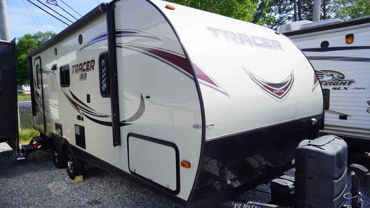 Travel Trailer With Large Bathroom.Sold 2017 Tracer Air 235 Ultra Lite Travel Trailer Slide Out Large Bathroom Front Queen 14 900