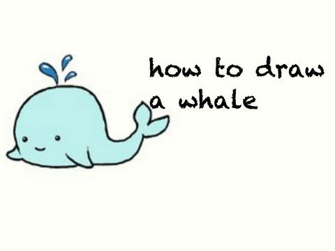 Cute Whale Drawing | www.pixshark.com - Images Galleries ...