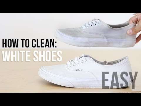How to Clean White Vans so They Look New- The Trend Spotter