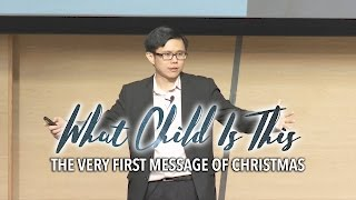 The Very First Message of Christmas