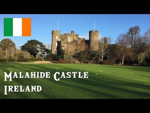 Visit Malahide Castle & Gardens, Malahide, Ireland - November 2017 (4K)