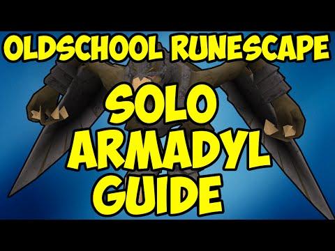 Oldschool Runescape - Solo Armadyl GWD Guide | 2007 Chinning Armadyl Guide