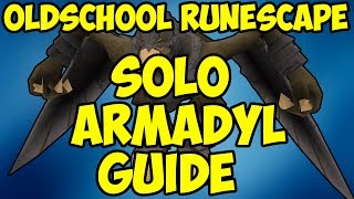 Oldschool Runescape - Solo Armadyl GWD Guide | 2007 Chinning Armadyl Guide