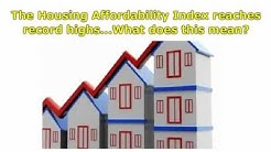 Housing Affordability Index | Does the housing affordability index matter?