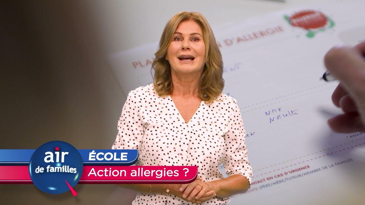 Air de familles - ECOLE action allergies ?