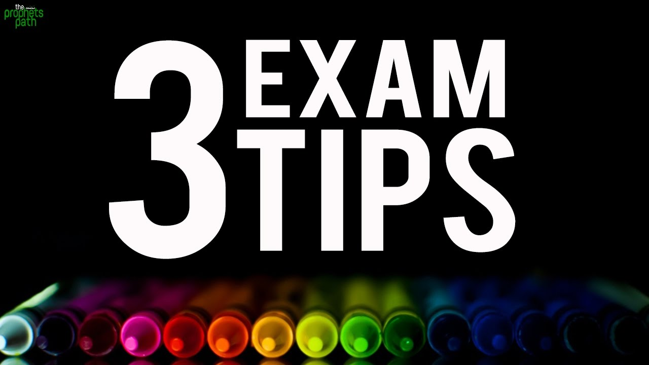 3 Amazing Tips To Pass Exams