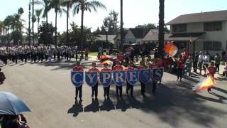 Cypress HS - National Fencibles - 2011 Loara Band Review