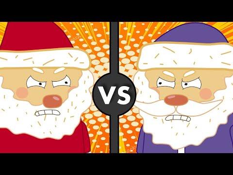 Санта Клаус против Деда Мороза