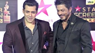Salman Khan And Shahrukh Khan Interview Together At Star Screen Awards 2016