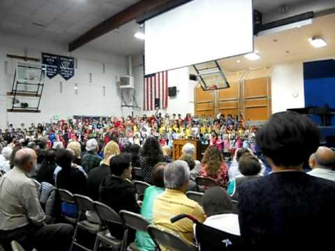 Redlands Adventist Academy K-5 Choir Performs