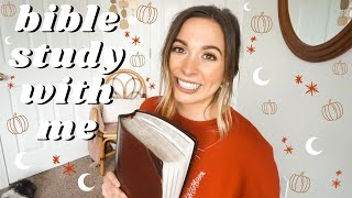 JOHN BIBLE STUDY PT. 1 | Bible Stขdy With Me Real Time | Easy to follow || Nastasia Grace