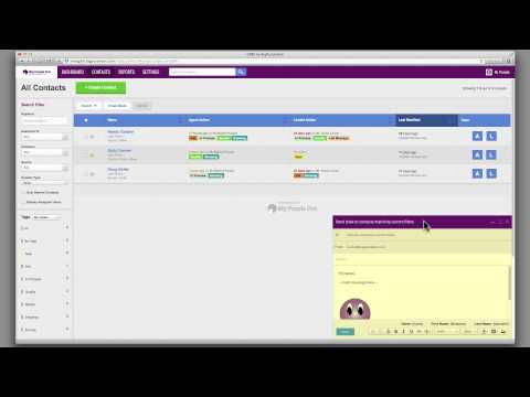 Email Blast Your Contacts Using Big Purple Dot's Real Estate CRM