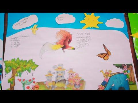Karya Montase kelas IV Tema 3  YouTube