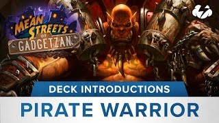 Hearthstone Deck Introductions: Pirate Warrior (Powered by G2A)