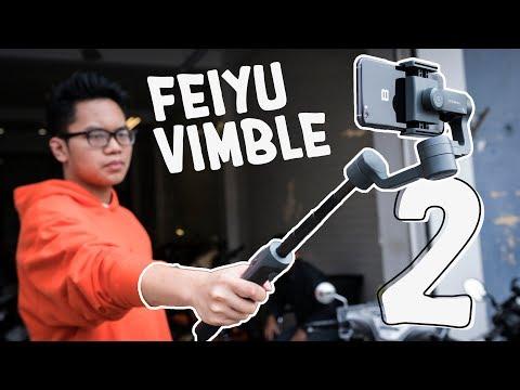 Đánh giá Gimbal Feiyu Vimble 2: vừa gậy selfie vừa chống rung