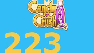 Candy Crush Soda Saga Livello 223 Level 223