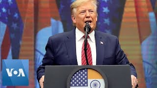 """U S President Trump at """" Howdy Modi"""" US and India Committed to Countering Threat of Terrorism"""