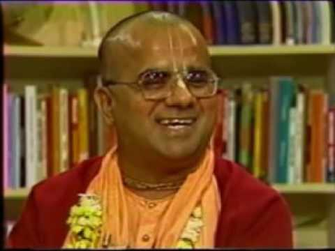 TV Interview of H.H Gopal Krishna Goswami at Vancouver, Canada