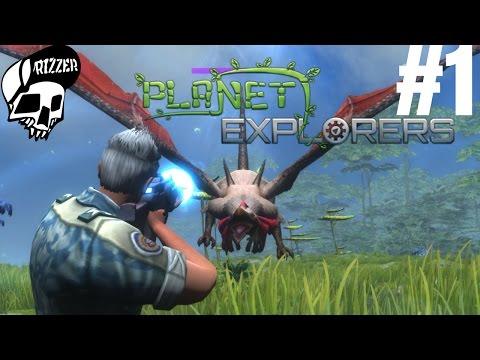 Planet Explorers #1 - Survival na obcej planecie   Połączenie ARK Hurtworld i Scrap Mechanic