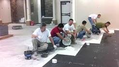 los esclavos del tile...(ceramica)