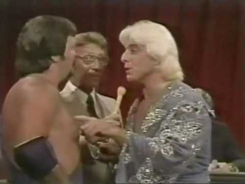 Jerry Lawler vs Ric Flair (NWA Heavyweight Title Match) Part 2 - The Hustle