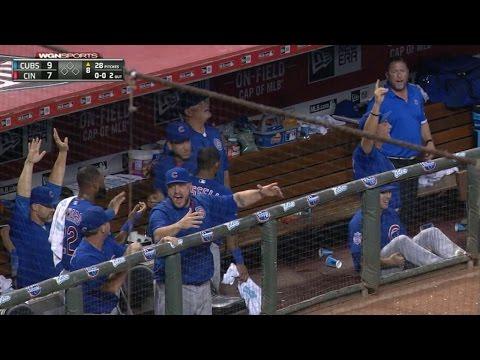 CHC@CIN: Cubs hit five home runs vs. Reds in 11-8 win