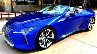 2021 Lexus LC500 Convertible Inspiration Series Walkaround