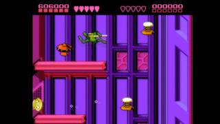 Nes - Battletoads (Level 8 - Intruder Excluder)
