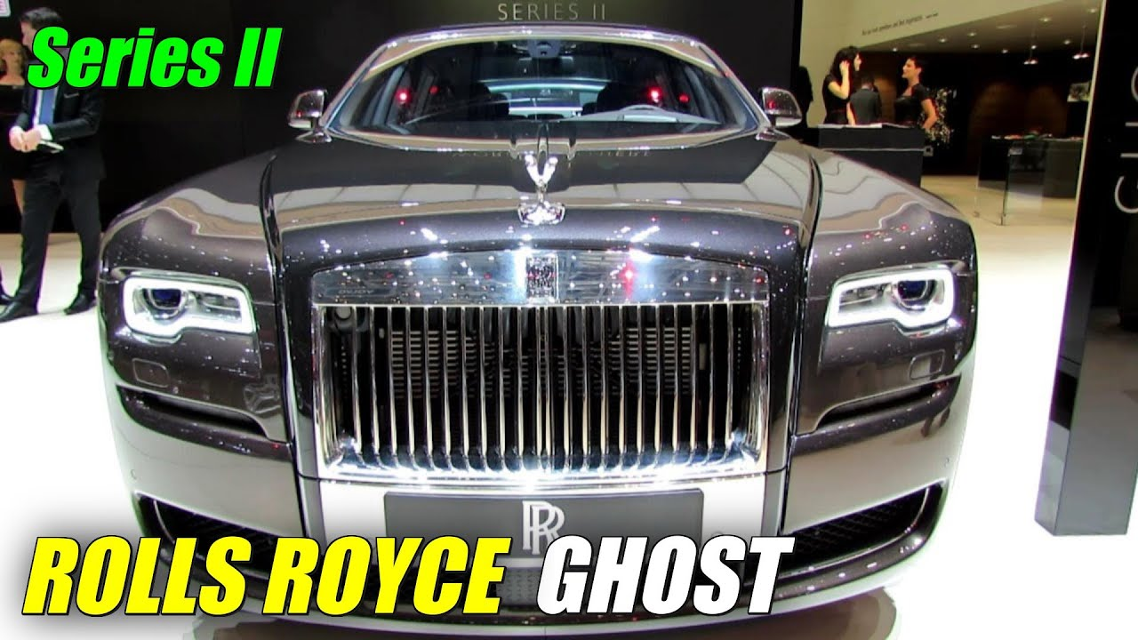2015 rolls royce ghost series ii exterior interior walkaround debut at 2014 geneva motor. Black Bedroom Furniture Sets. Home Design Ideas