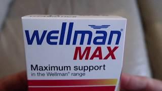 Vitabiotics Wellman Max 3-in-1 triple pack Best Vitamins - unboxing