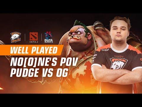 VP vs OG - No[o]ne's Pudge POV