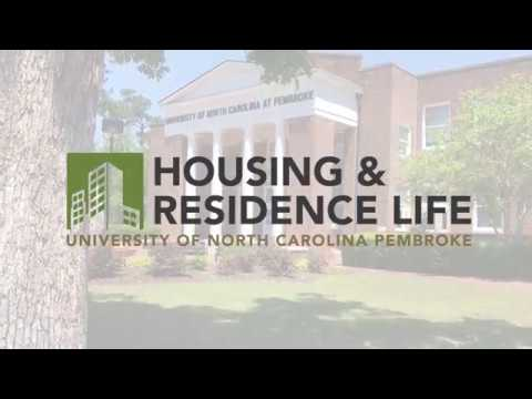 Unc Pembroke Campus Map.Residence Halls At Unc Pembroke A Student Produced Video Overview