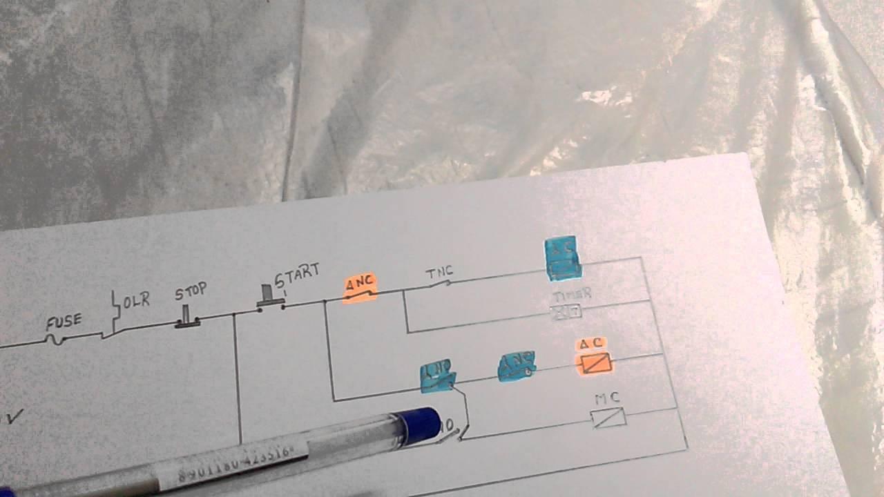 star delta control wiring diagram in tamil [ 1280 x 720 Pixel ]