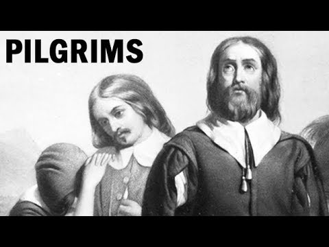 The Pilgrims' Long Journey to the New World | Educational Film | 1955