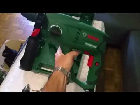 Genoeg Bosch PBH 2500SRE - YouTube DD97