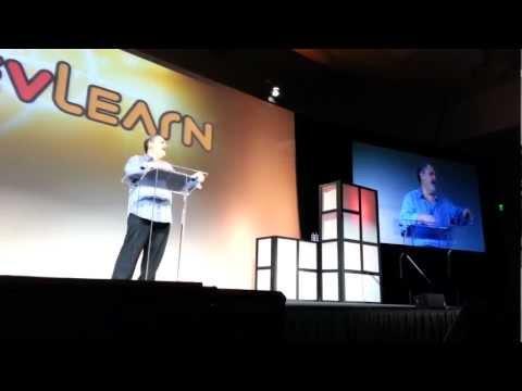 Jon Landau at DevLearn 2012 (Las Vegas) - Technolo