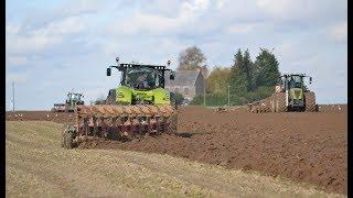 Chantier XXL pour le semi de blé ( XERION, et AXION , QUADTRAC...)