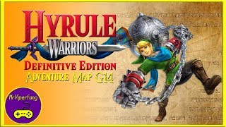 Hyrule Warriors (Switch): Adventure Map G14 - Obtaining Link