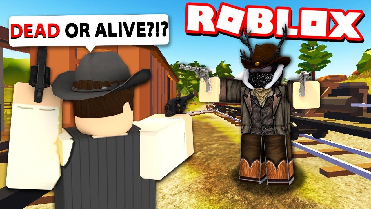 We Got AMBUSHED by LAWMEN on The Wild West! (Roblox)
