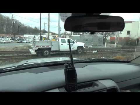 #499 CSX High Rail Truck Rail Inspector