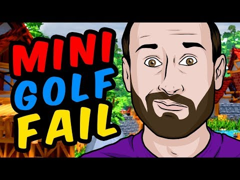INSANE MINI GOLF CHALLENGE - Golf It!