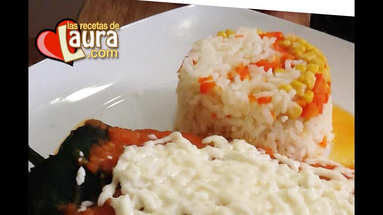 Arroz blanco con elote y zanahoria las recetas de laura for La zanahoria es una hortaliza