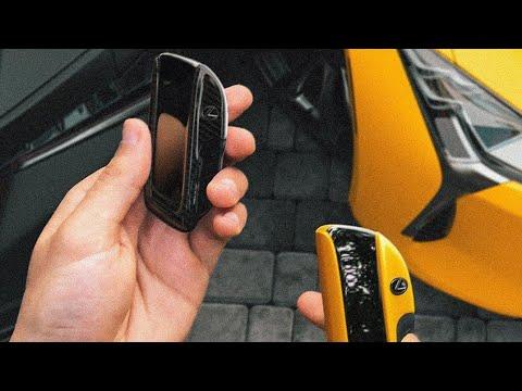 Lexus Lc 500 Concept Key Youtube