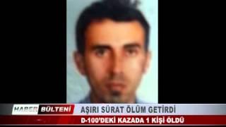 KOCAELİ TV - AŞIRI SÜRAT ÖLÜM GETİRDİ