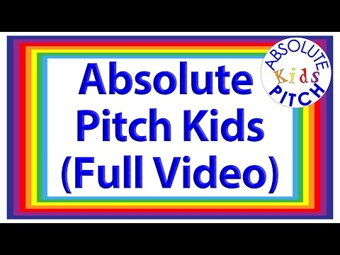 All About Absolute Pitch Kids (Full Video)