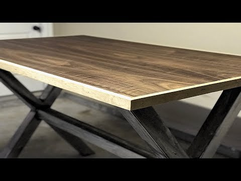 DIY Modern | Industrial Standing Desk | Welding Project
