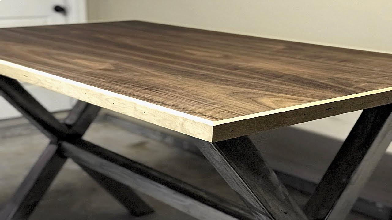 diy modern industrial standing desk welding project